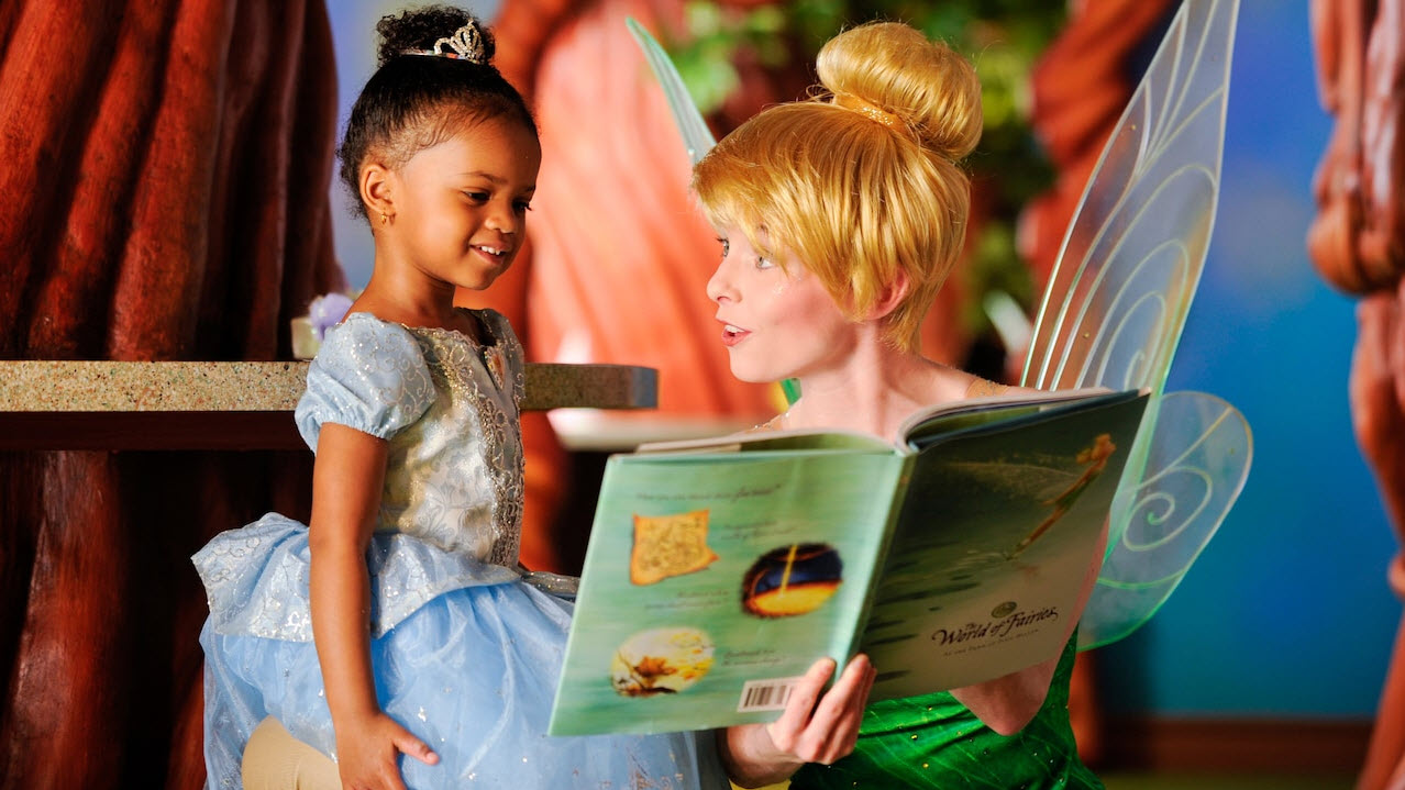Tinkerbell and Cinderella | Big Beautiful World Travel | Disney Travel Agent Cathi Maziarz