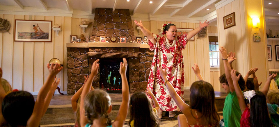 Aulani Entertainment | Big Beautiful World Travel | Disney Travel Agent Cathi Maziarz