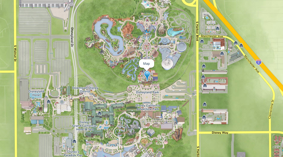 Disneyland Map | Big Beautiful World Travel | Disney Travel Agent Cathi Maziarz