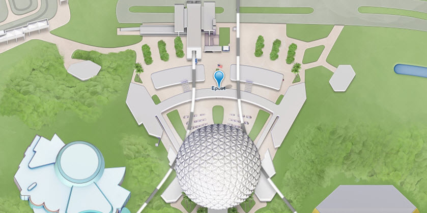 Epcot Map | Big Beautiful World Travel | Disney Travel Agent Cathi Maziarz